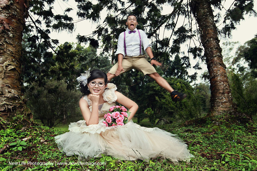 Unique and Fresh Pre-wedding Poses Ideas