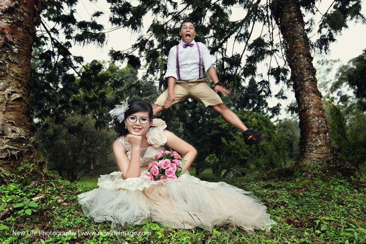 Unique Pre-wedding poses ideas