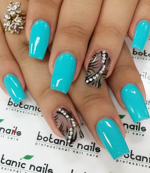 Blue-green-and-black-nail-art1