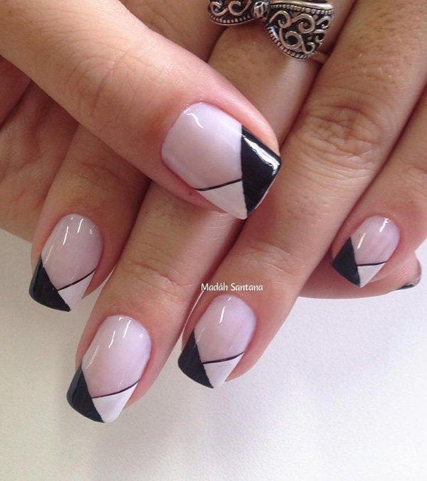 Generous nail art for winter