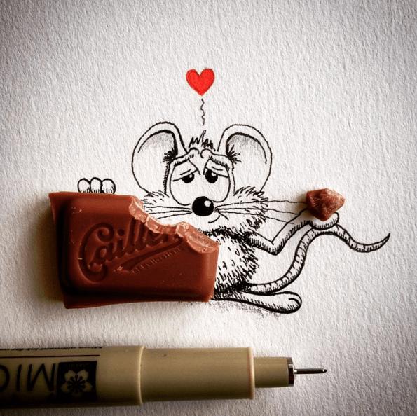 Creative Drawing Funny Art
