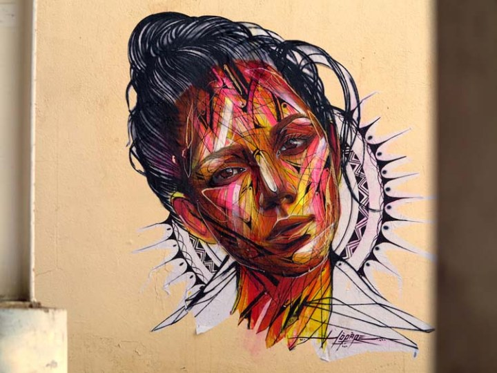 Creative Street Art and Graffiti Designs by Hopare-in-Les-2-Alpes