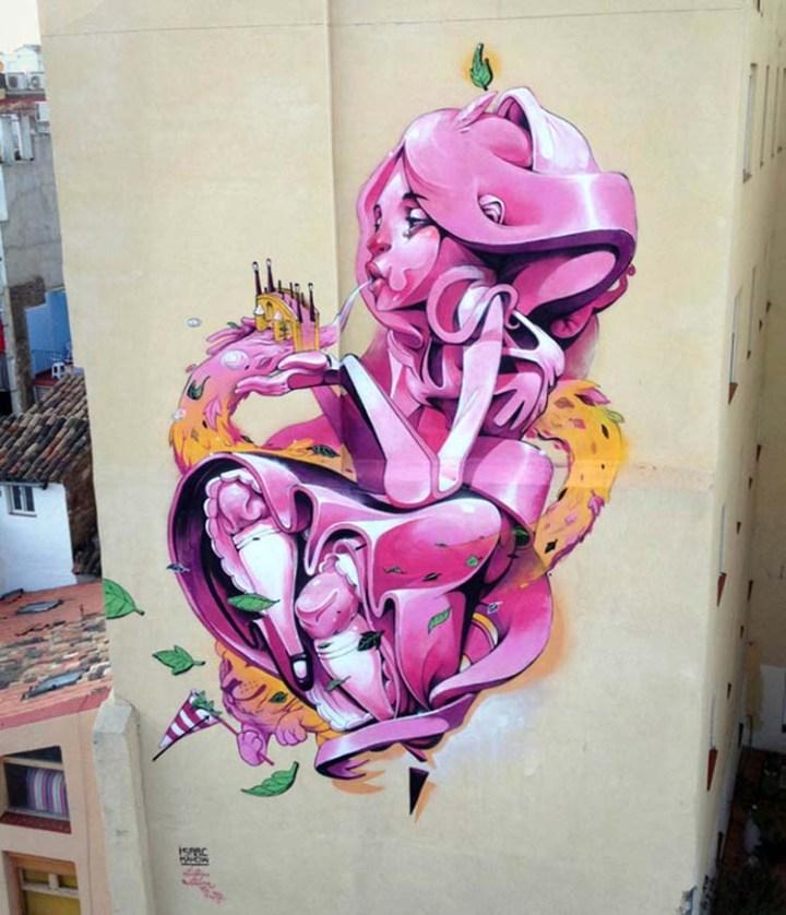 Creative Street Art and Graffiti Designs by Isaac-Mahow-Zupi