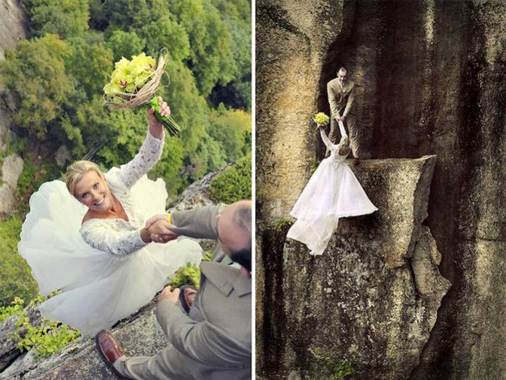 Extreme and dramatic wedding Photography by Jay Philbrick