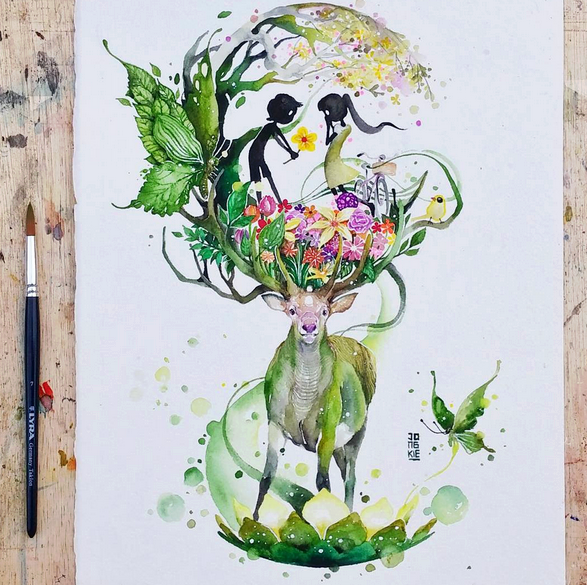 Gorgeous Watercolor Paintings ideas