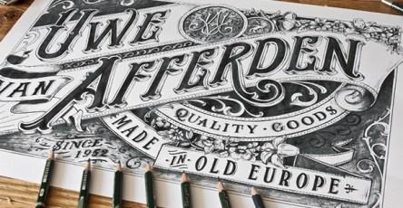 Stunning Hand drawn Type Artworks 2015 by Tobias Saul