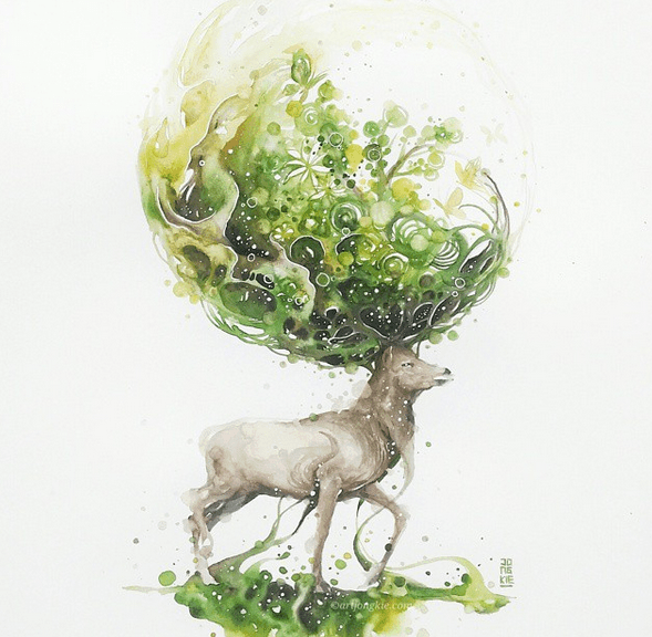 Wonderful Watercolor Paintings