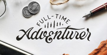 Beautiful Lettering Artworks by Marco van Luijn