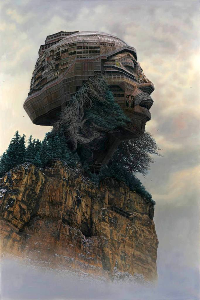 Portraits of Chinese Rockstars Turned into Monumental Temples 02