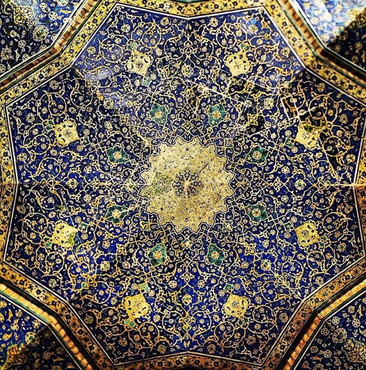 The Hypnotizing Beauty Of Iranian Mosque Ceilings 17