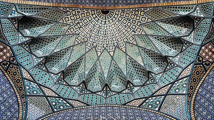 The Hypnotizing Beauty Of Iranian Mosque Ceilings 3