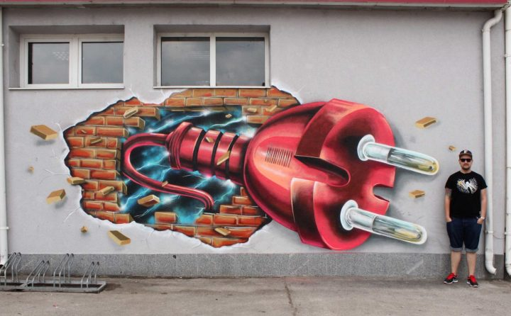 3D Street Art and Graffiti Designs by Fork4 99
