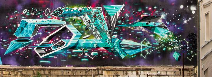 Amazing Street Art and Graffiti Designs by Fork4 99