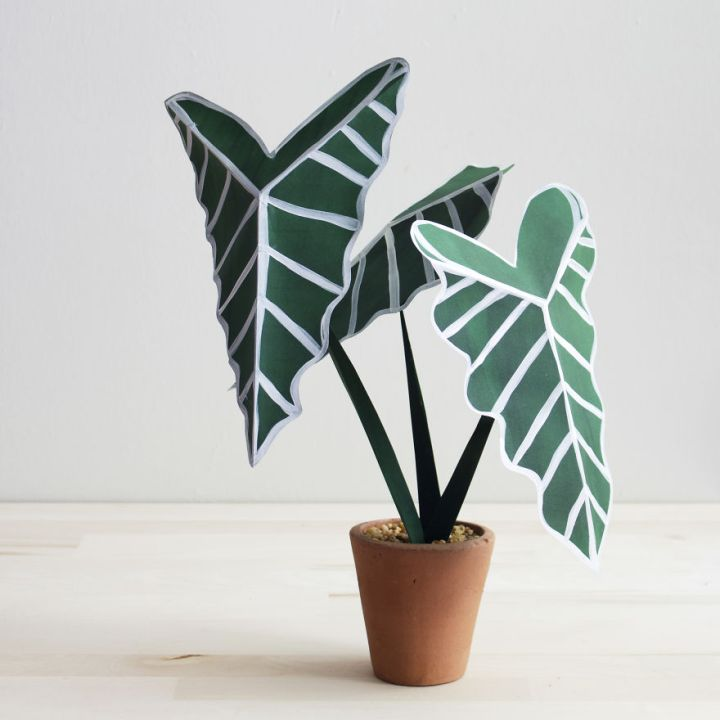 Creative Idea  Plants From Paper 99