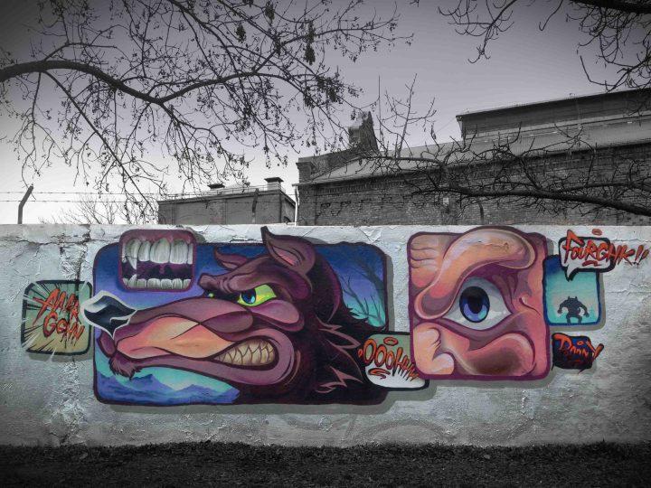Wonderful Street Art and Graffiti Designs by Fork4 02