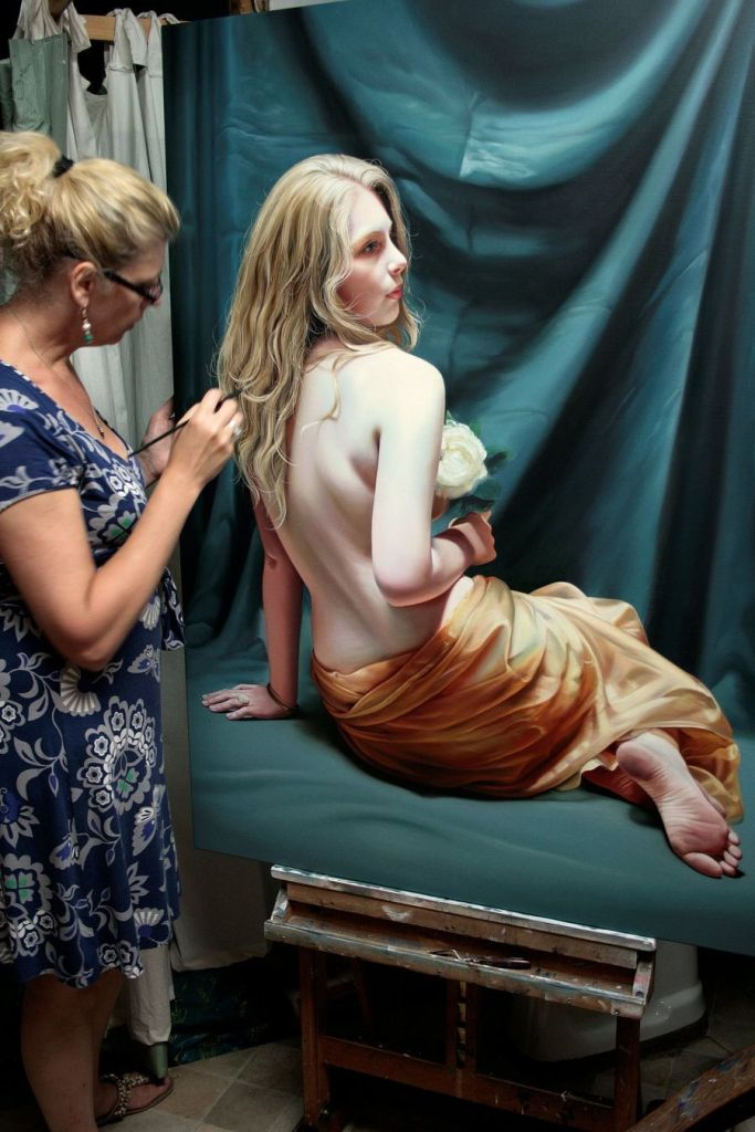Mind Blowing Hyper Realistic Oil Paintings by Christiane Vleugels 1