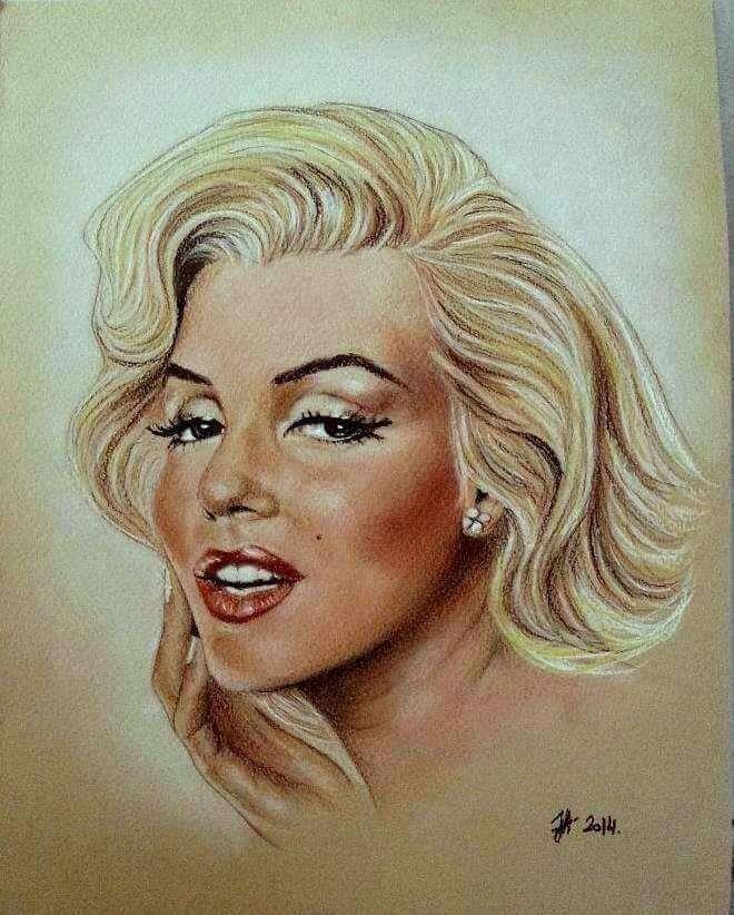 Amazing Celebrity Paintings by Aleksandra Janekovic Sribar