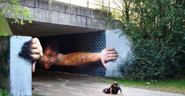 Brilliant And Interactive Street Art By Caiffa Cosimo