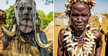 The Beauty Of Tribal Women In Ethiopia Documented by Omar Reda