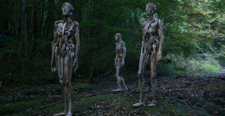 Wonderful Driftwood Sculptures By Japanese Artist Nagato Iwasaki