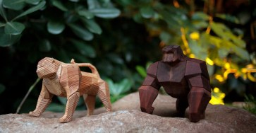 Creative Geometric Wood Toys by Designer Mat Random