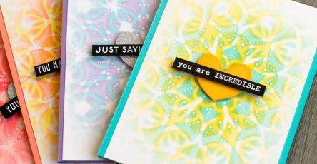 The Powerful Guide to Stencils for Card Making