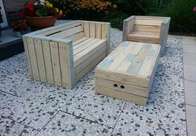 Diy Outdoor Furniture Made Out Of Pallets