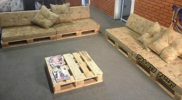 Pallet Sofa Ideas Pallet Sectional Sofa Diy Outdoor Pallet Bench