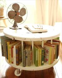 DIY Wooden Cable Drum Furniture Ideas