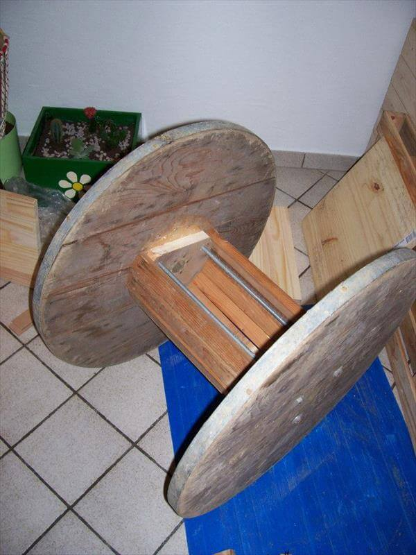 DIY Wire Roll Chair  99 Pallets