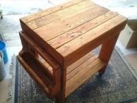 DIY Pallet Kitchen Island Table   99 Pallets