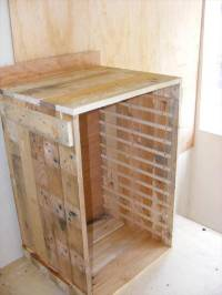 Pallet Tool Storage Cabinet: DIY Tutorial