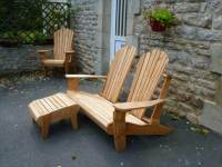Pallet Adirondack Style Patio Furniture Set