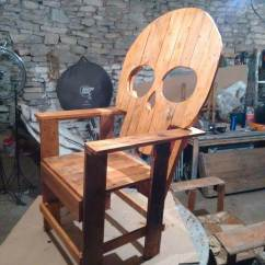 Wooden Skull Chair Office Elbow Pads Plans