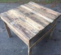 Pallet Patio Coffee Table Potting 99 Pallets