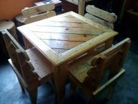 DIY Pallet Dining Table and Chairs For Kids | 99 Pallets