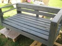 DIY Pallet Wood Garden Bench | 99 Pallets
