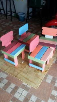 Kids Furniture Made from Pallets