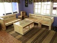 Pallet Living Room Furniture Set | 99 Pallets