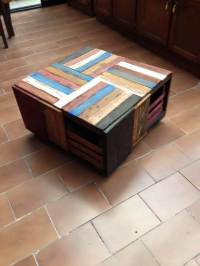 Wood Crate Table | www.pixshark.com - Images Galleries ...