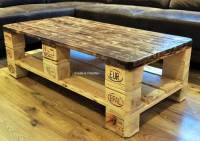 Euro Pallet Wood Coffee Table | 99 Pallets
