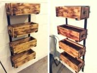 Pallet Shelves | 99 Pallets - Part 3