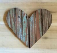 Wooden Pallet Heart Wall ART | 99 Pallets