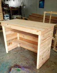 Pallet Computer Desk / Reception Desk | 99 Pallets