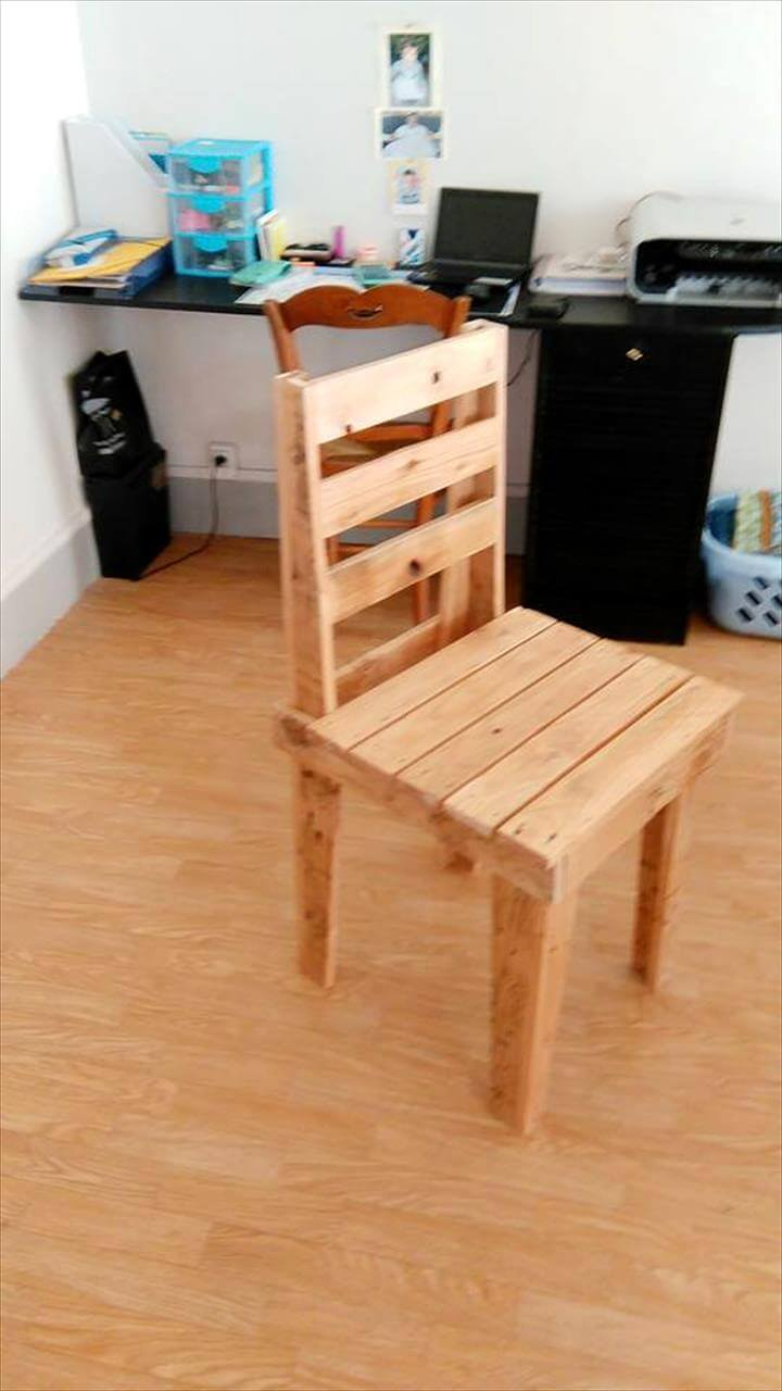 DIY Pallet Kids Chairs  99 Pallets