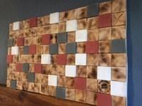 DIY 3D Pallet Wall Art