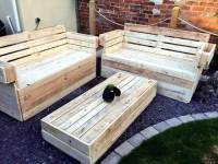 Recycled Wooden Pallet Garden Furniture