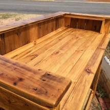 Diy Reclaimed Pallet Wood Bar Table 99 Pallets