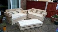 Recycled Wooden Pallet Garden Furniture