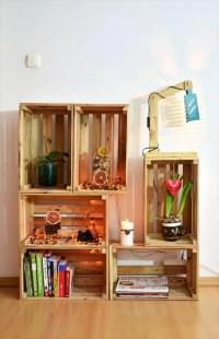 DIY Wood Pallet Crate Storage & Decorations